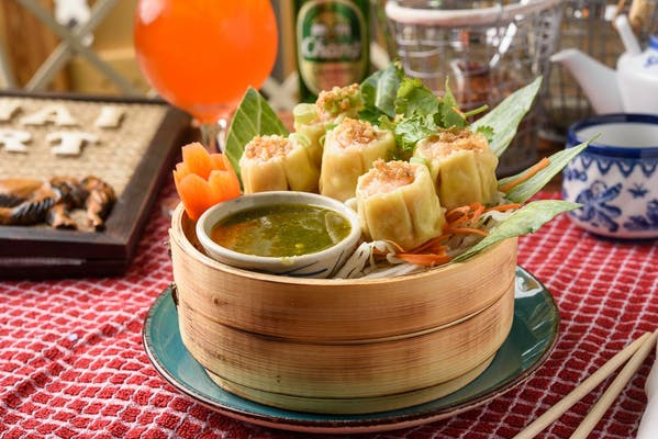 A7. Steamed Shrimp Dumpling