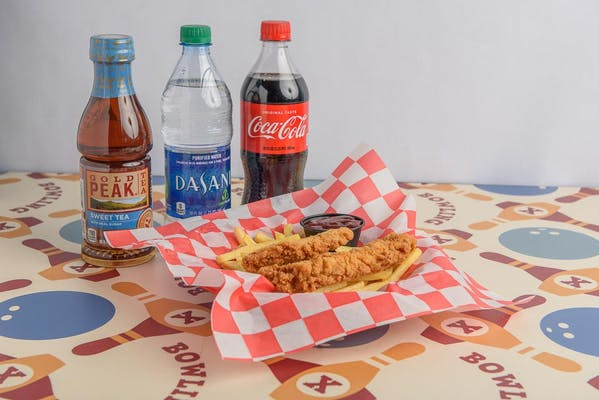 Kid's Chicken Tender Basket Coca-Cola Combo