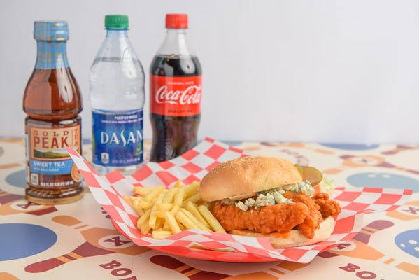 Buffalo Chicken Sandwich Coca-Cola Combo