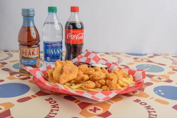 Seafood Plate Coca-Cola Combo