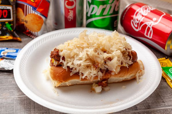 Kraut Hot Dog
