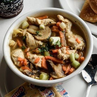 Bowl Chicken Noodle Soup