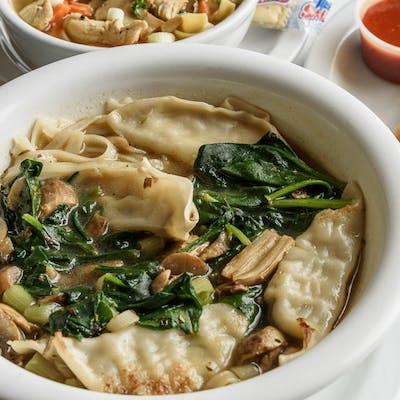Bowl Potsticker Soup