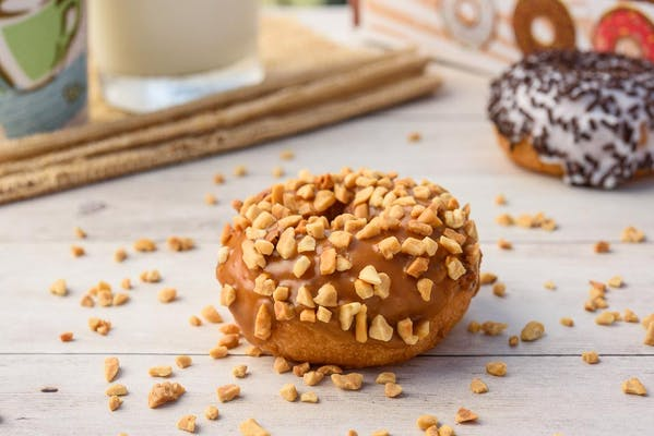 Caramel Peanut Donut