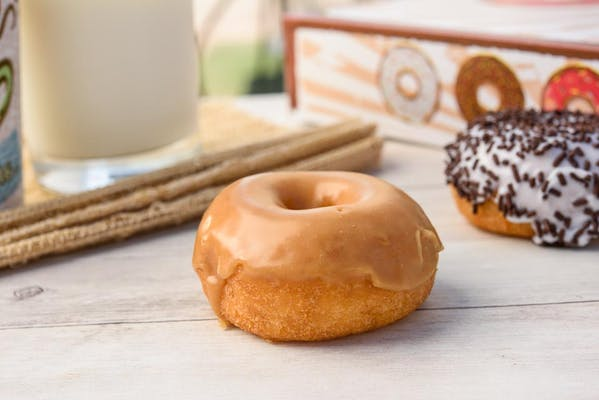 Maple Iced Donut