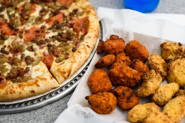 Pizza & Wing Bites Combo