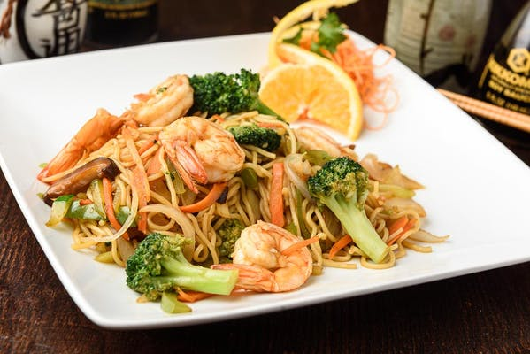 73. Shrimp Noodles