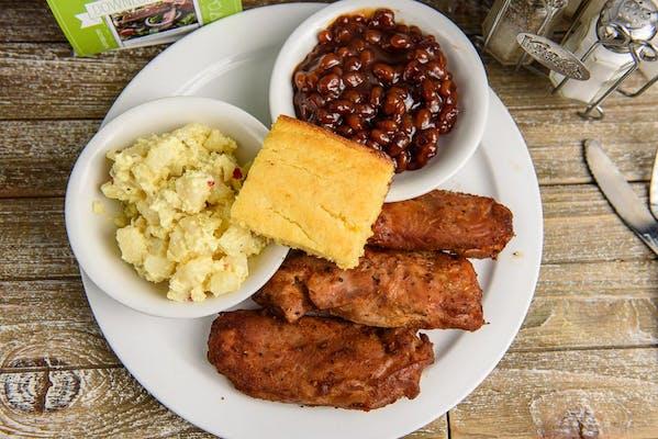 Turkey Ribs Platter Lunch Special