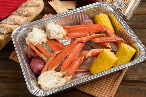 Steamed Snow Crab