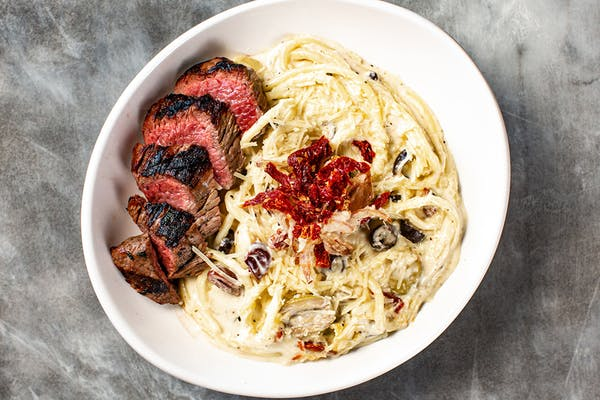 Steak & Gorgonzola Pasta