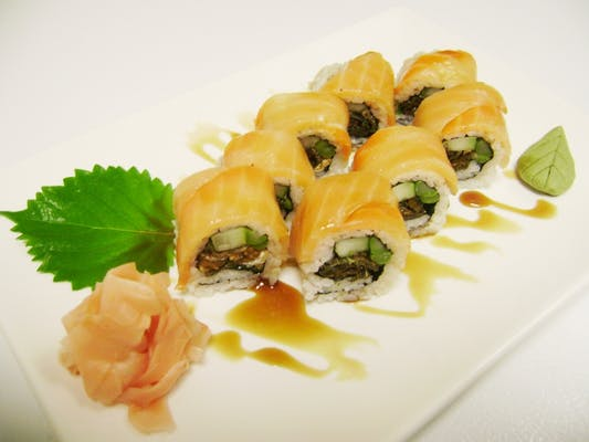 Sneaky Salmon Roll