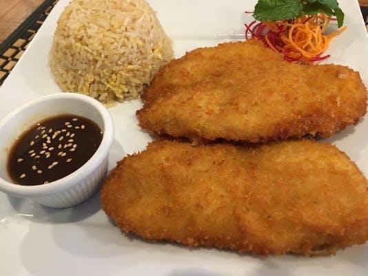 Katsu Chicken or Shrimp