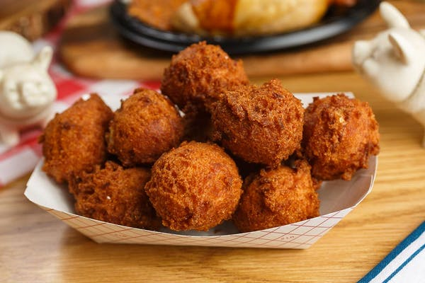 Side of Hush Puppies