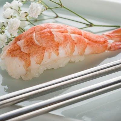 Shrimp Nigiri (Ebi)