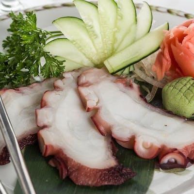 Octopus Sashimi (Tako)