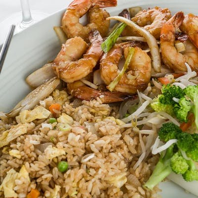 Shrimp Hibachi