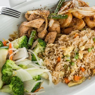 Chicken & Shrimp Hibachi
