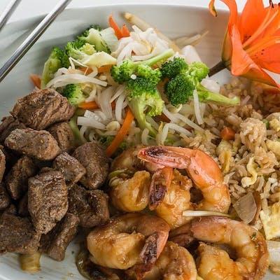 Beef & Shrimp Hibachi