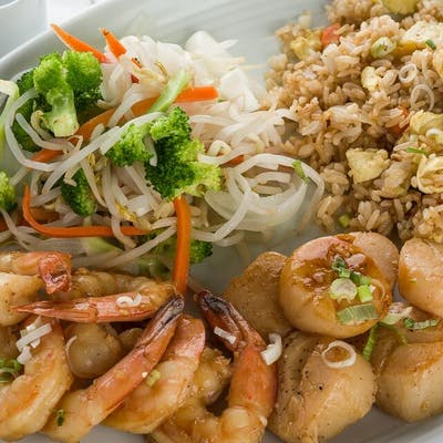 Scallop & Shrimp Hibachi