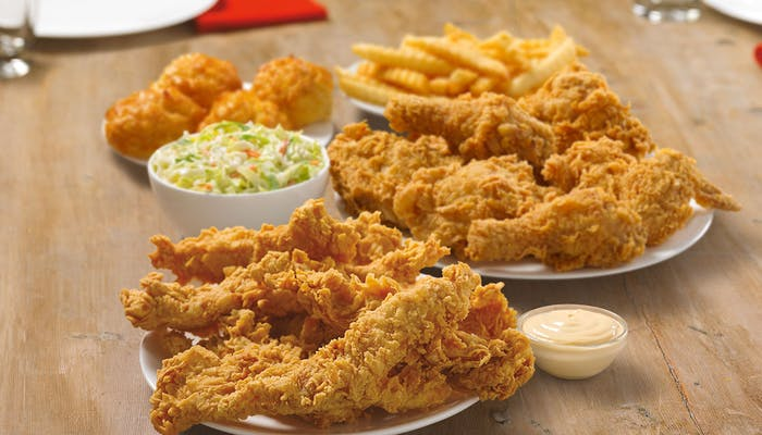 (6 pc.) Mixed Chicken & (8) Tender Strips Meal