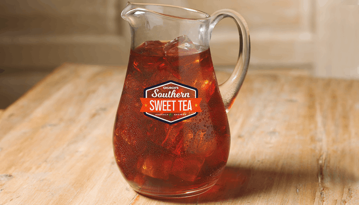 Gallon Church's Southern Sweet Tea