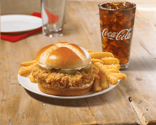 Smoky Honey-Q Chicken Sandwich Combo