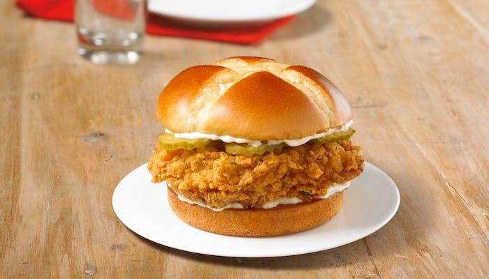 Smoky Honey-Q Chicken Sandwich