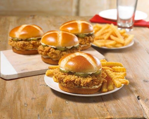 Mix & Match 4 Chicken Sandwich Bundle