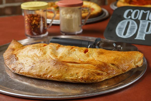 Hawaiian Calzone or Stromboli