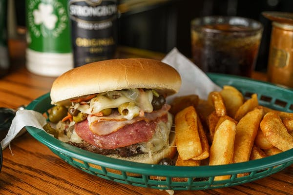 The Irish Channel Burger