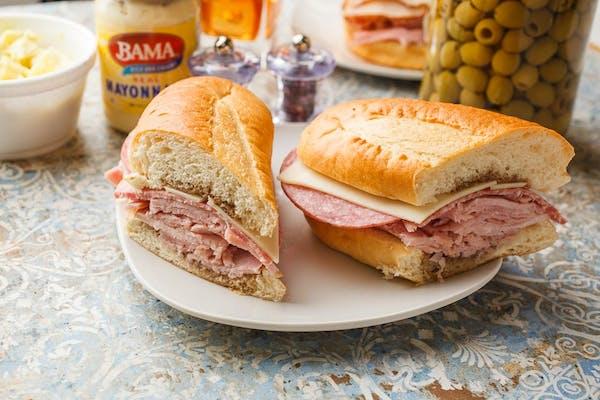 (1/2 lb.) Big Italian Sub Sandwich