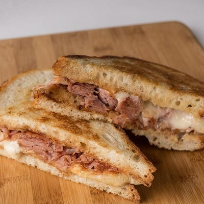 Grilled Ham & Swiss Panini