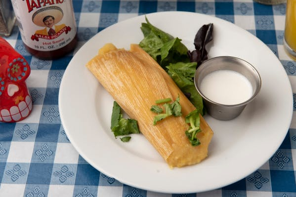 Homemade Sweet Corn Tamale
