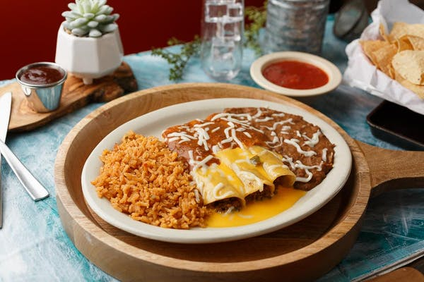 (1) Enchilada Combination Plate