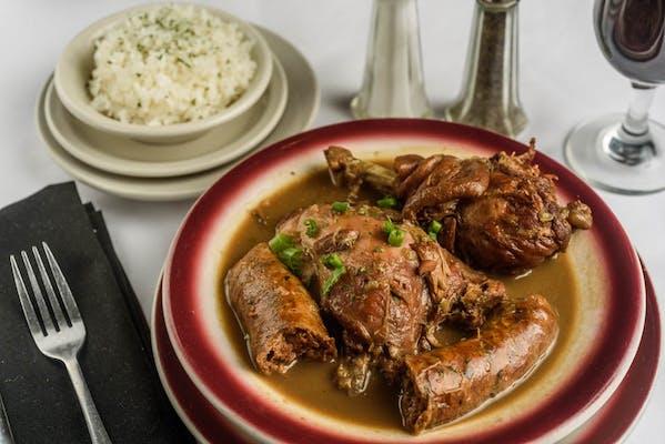 Chicken & Fresh Sausage Gumbo