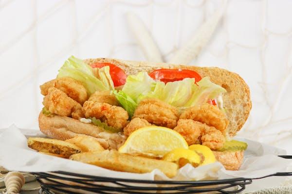 Shrimp  Po - Boy