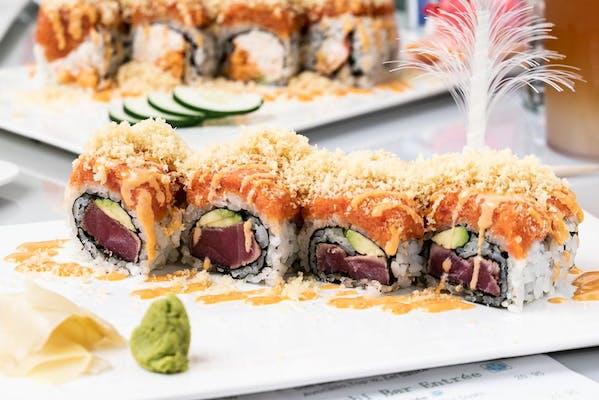 7. Crazy Tuna Roll Fuji Special