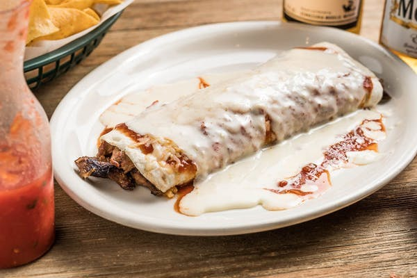 14. Burrito A La Parrilla