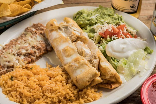 15. Chimichanga Lunch