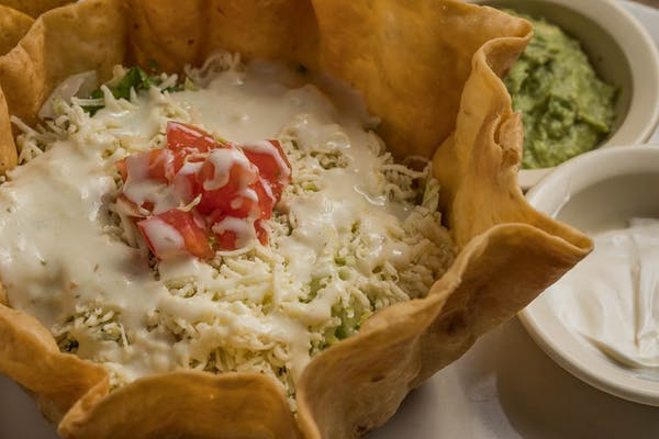 20. Vegetarian Taco Salad Lunch