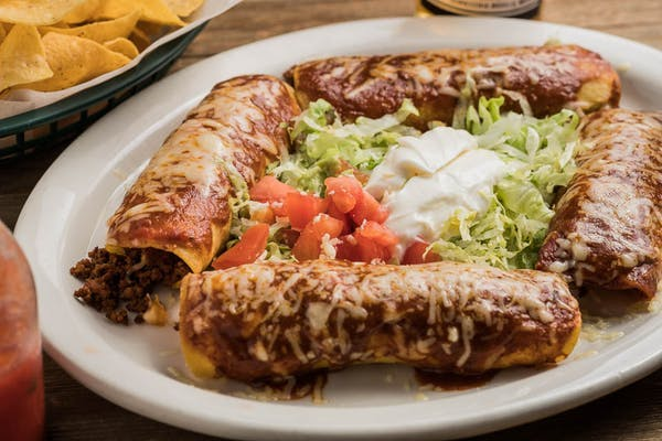 26. Enchiladas Supreme