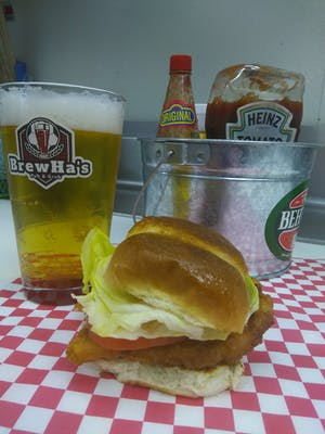 Chicken Slider (Grilled or Fried)