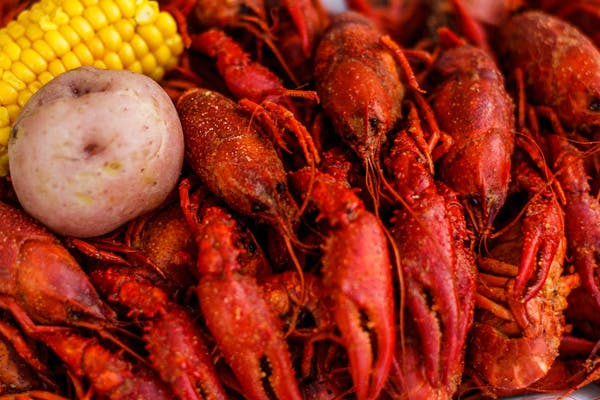 (20 lbs.) or More Boiled Crawfish Special