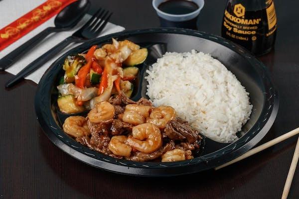 T5. Beef & Shrimp Teriyaki