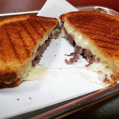 Lock 31 Brisket Grilled Cheese Sandwich