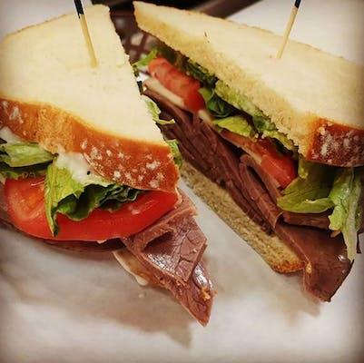 Rumbling Roast Beef Sandwich