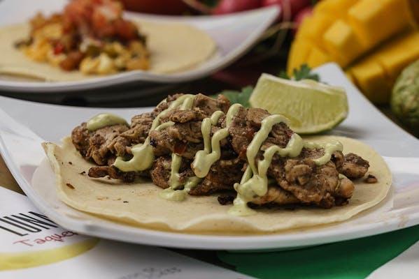 Cumin Chicken Taco