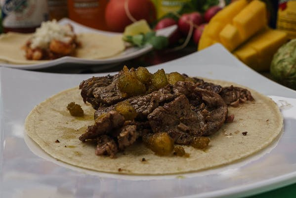 Chimichurri Steak Taco