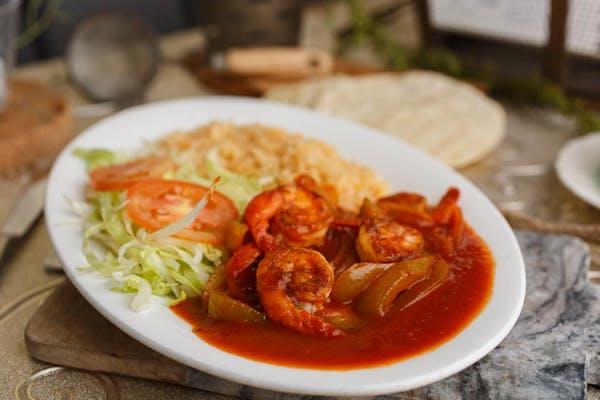 3. Shrimp in Chipotle Sauce