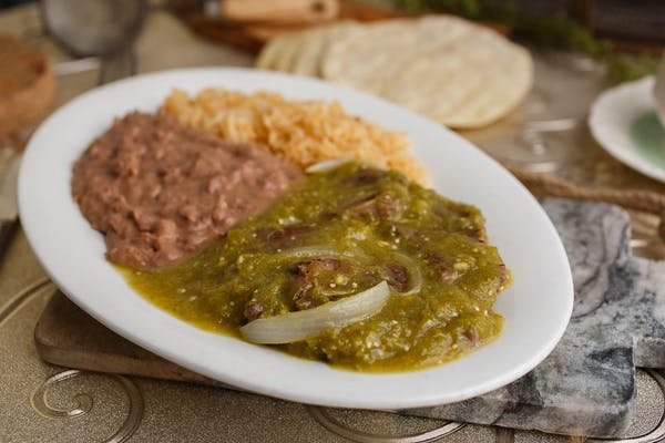 5. Beef Riblets in Green Sauce